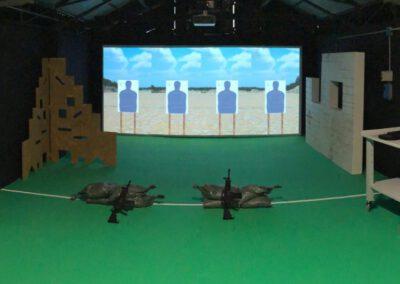 Laser Trainingssystem in Italien installiert